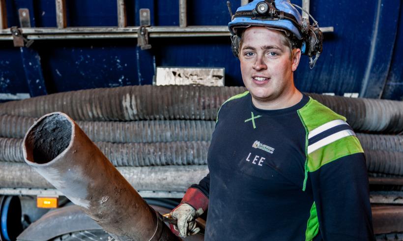 Lars Erik Edvardsen – Bas på sugebilene