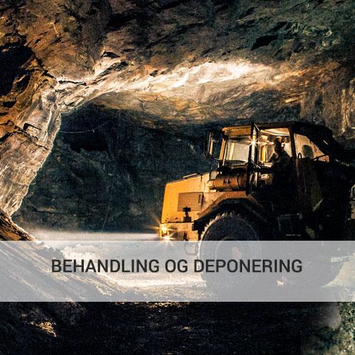 BEHANDLING OG DEPONERING